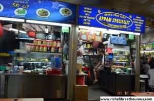 Cuisine populaire à Singapour