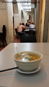 Savourer une soupe chinoise à Singapour !