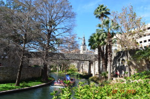 Canal du Riverwalk San Antonio